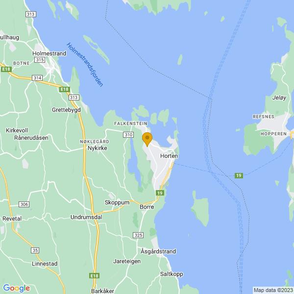 Google Map of 59.4235797,10.4523862