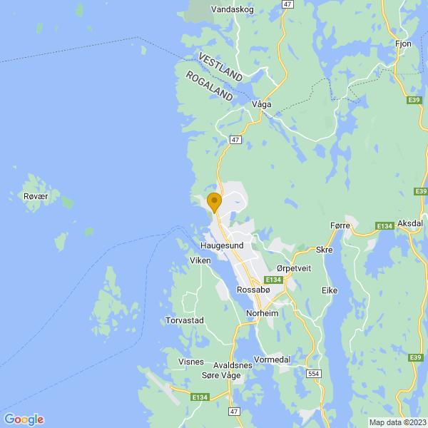Google Map of 59.42912138241453,5.260680781892386