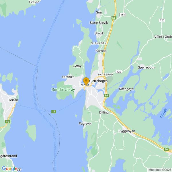 Google Map of 59.4340914,10.658383299999969