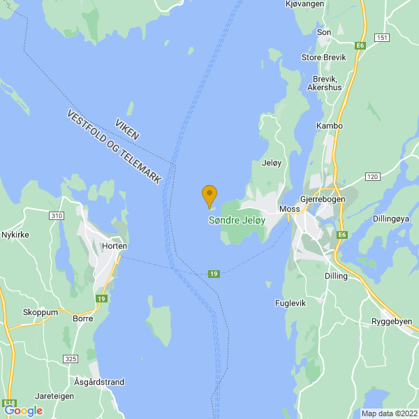 Google Map of 59.4351508,10.576712