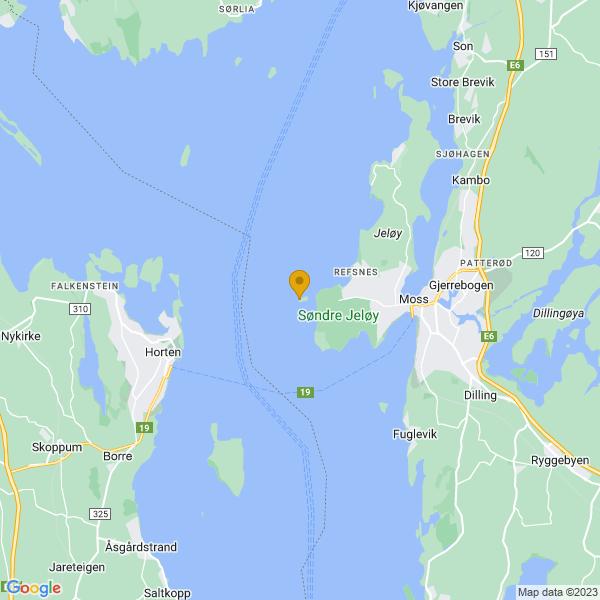 Google Map of 59.43523437196635,10.57706594467163