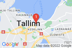 Google Map of Huoneisto - Kaksio Karu