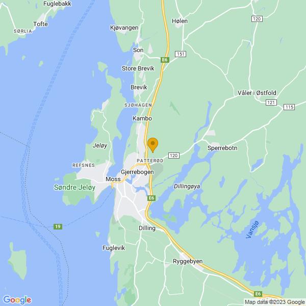 Google Map of 59.4536185,10.708645199999978