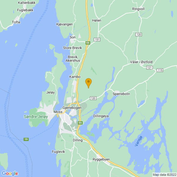 Google Map of 59.4631844,10.7260342