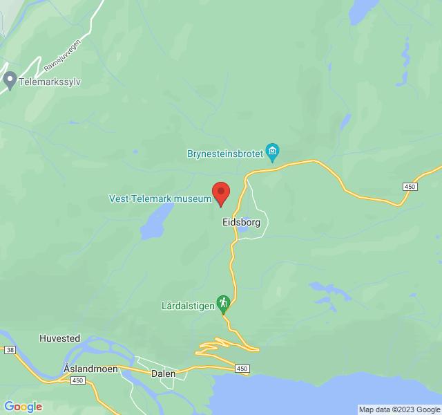 Kart over Museumsvegen 9, Museumsvegen 9, Høydalsmo