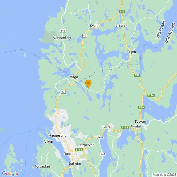 Google Map of 59.4690283,5.3399059