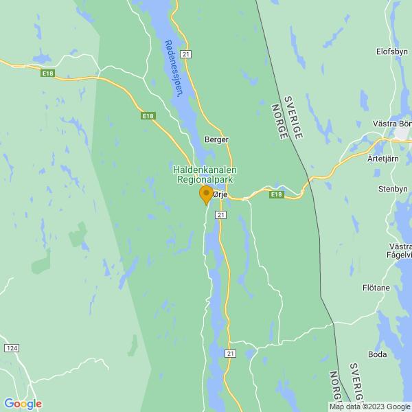 Google Map of 59.47463736289483,11.646317341958627