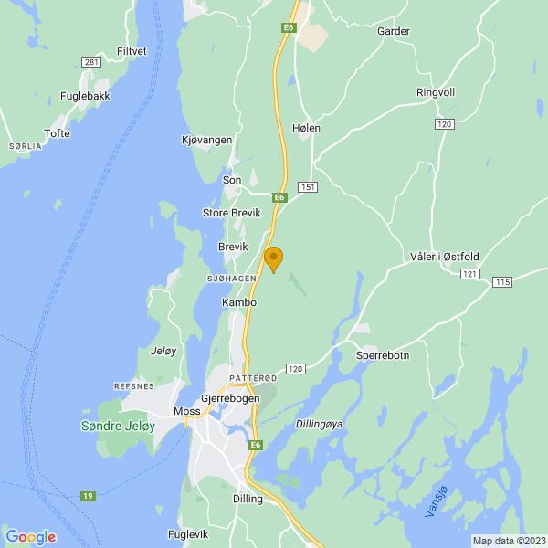 Google Map of 59.488004,10.720553