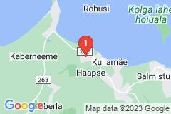 Google Map of Lomamökki Haapse