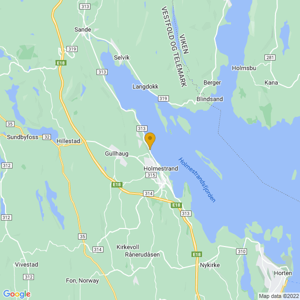 Google Map of 59.50298999999999,10.300057