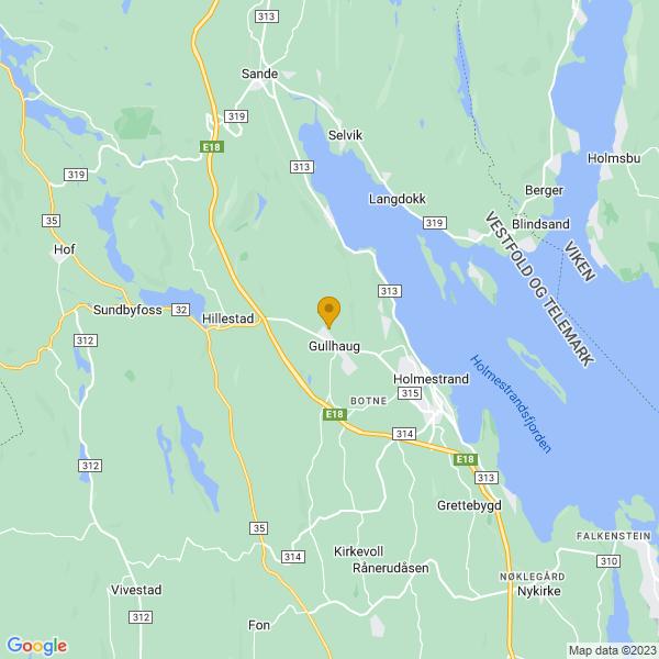 Google Map of 59.50582429999999,10.2513851