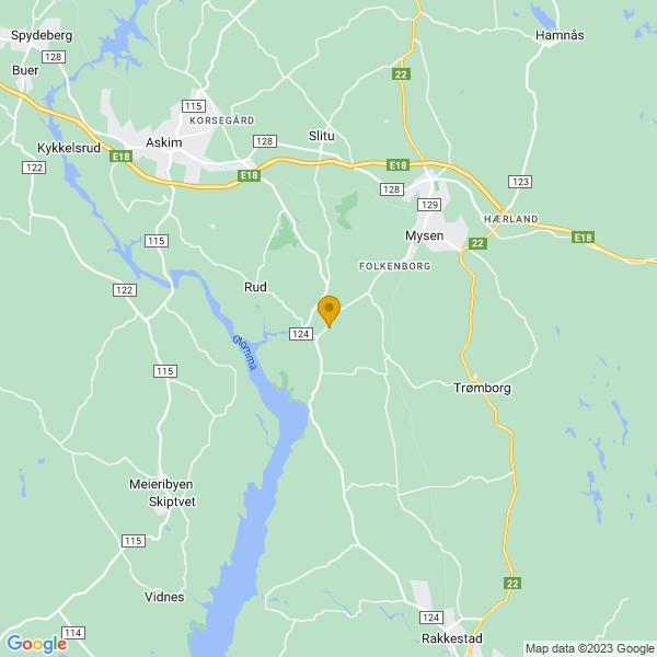 Google Map of 59.5240475,11.2658244