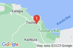 Google Map of Lomamökki - Toolse