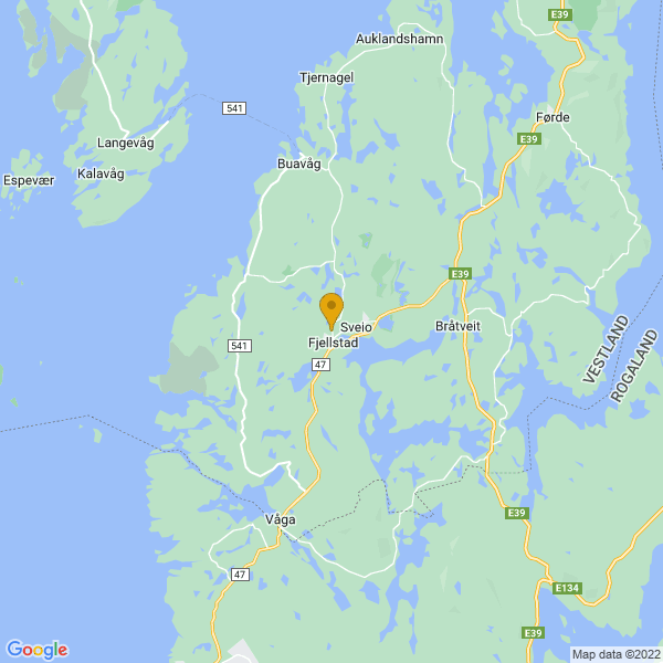 Google Map of 59.541893648260086,5.3382403186634875