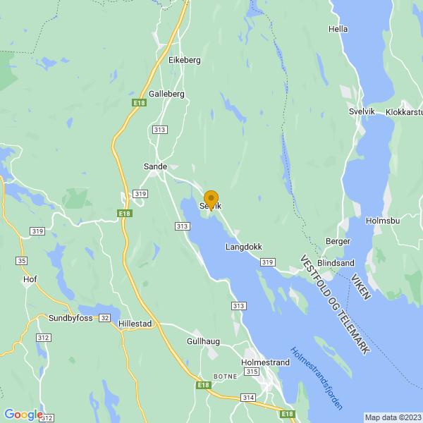 Google Map of 59.5646327,10.262399200000004