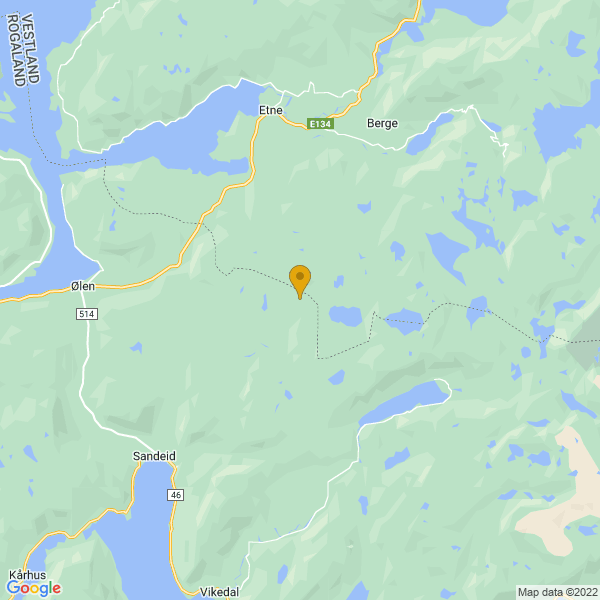 Google Map of 59.5993027,5.957007200000001