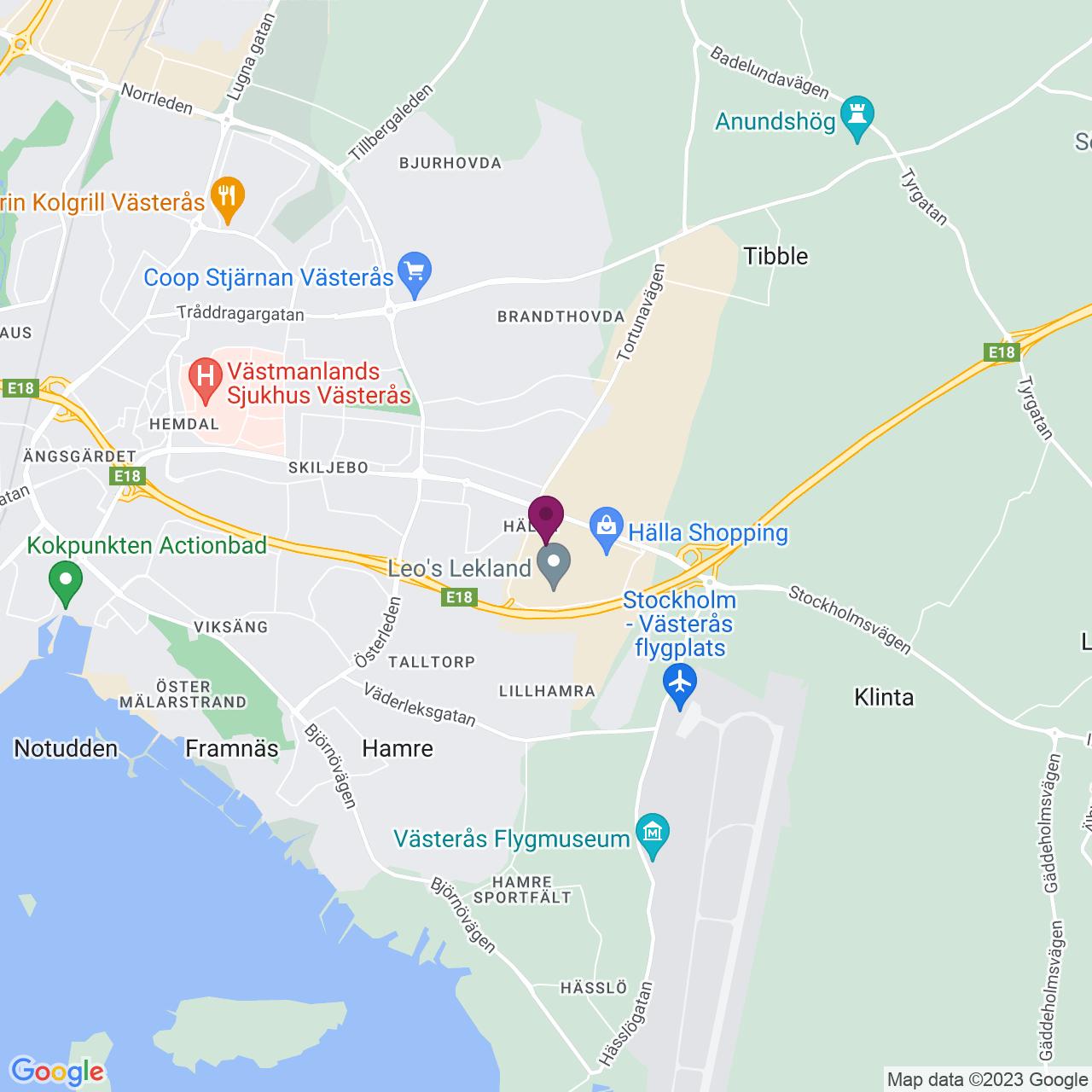 Karta över Lundby gårdsgata 4
