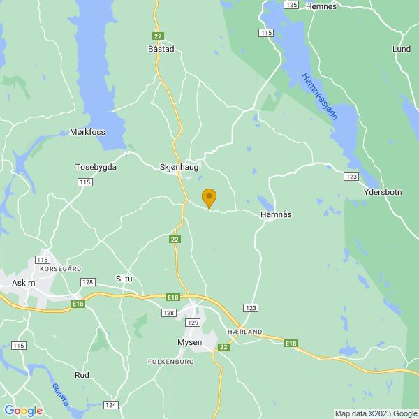 Google Map of 59.6196959,11.3451361