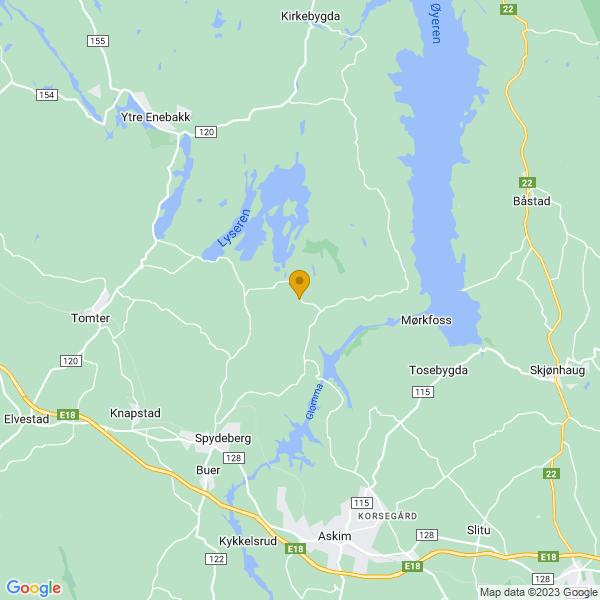 Google Map of 59.6652452,11.1384805