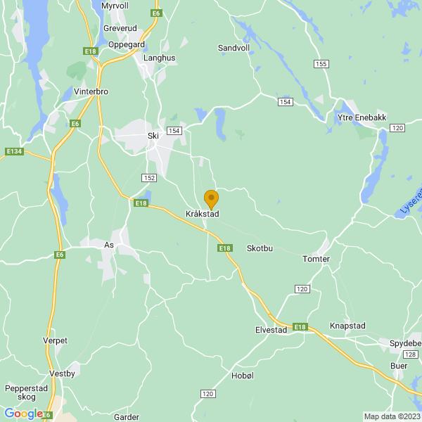 Google Map of 59.682769614206066,10.892368832938443