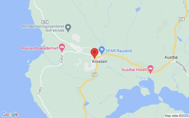 Kart over Krossen pub