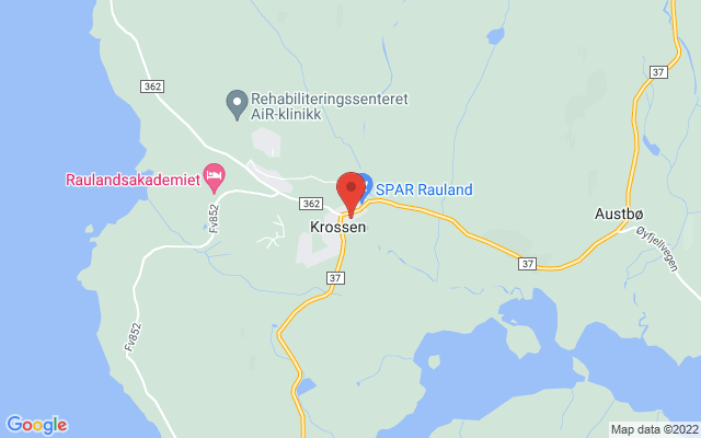 Kart over Midtre Såtehov 3, Rauland