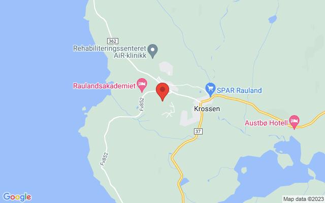 Kart over Nedre Såtehov 4, Rauland