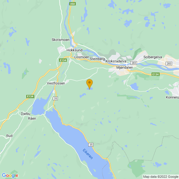 Google Map of 59.72541349999999,9.94571