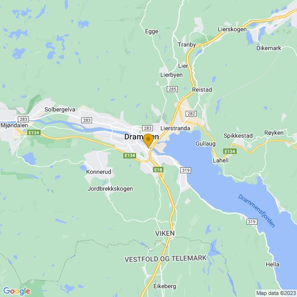 Google Map of 59.7357555,10.213516400000003