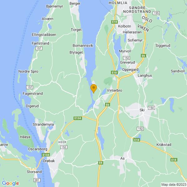 Google Map of 59.737892,10.7291353