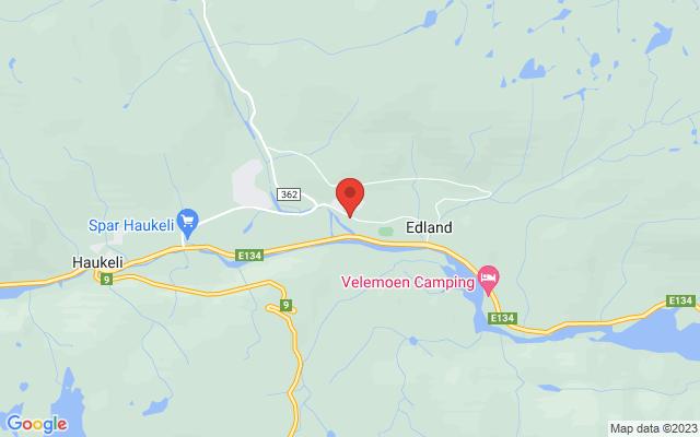 Kart over Fjellvang i Edland