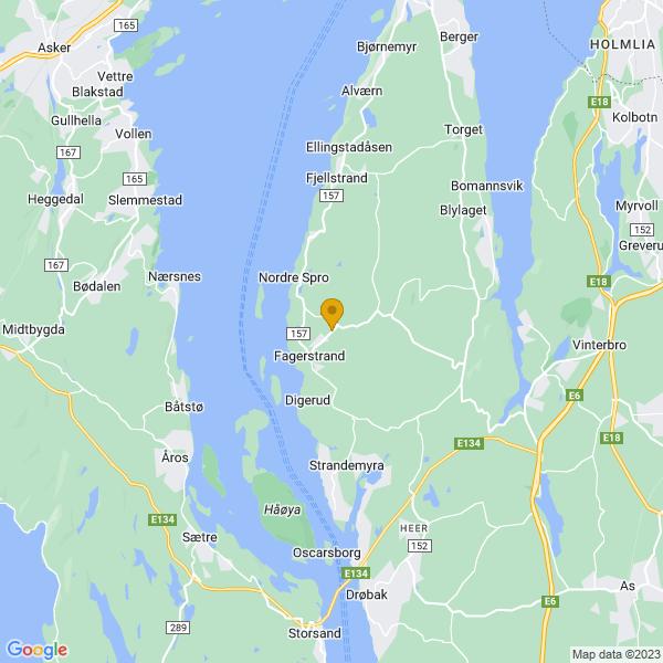 Google Map of 59.745602,10.608971999999994
