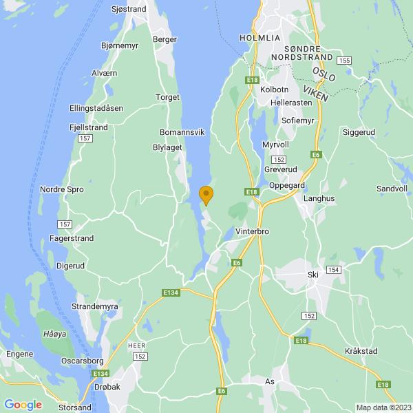 Google Map of 59.7538456,10.729419000000007