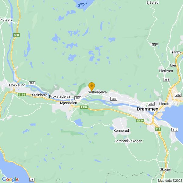 Google Map of 59.76375699999999,10.0780393