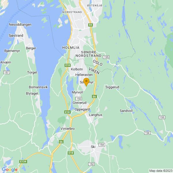Google Map of 59.7919576,10.8199759