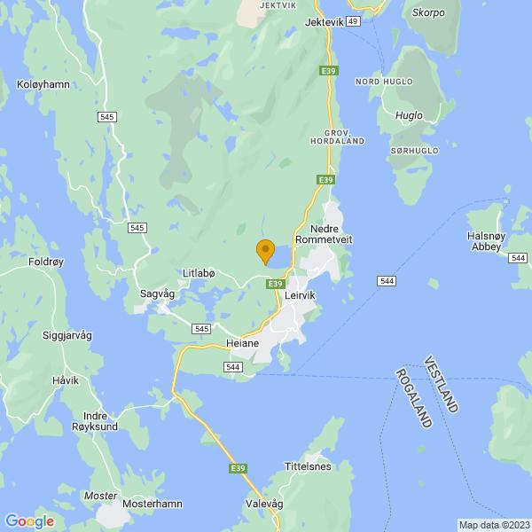 Google Map of 59.7919768504894,5.473799279947471