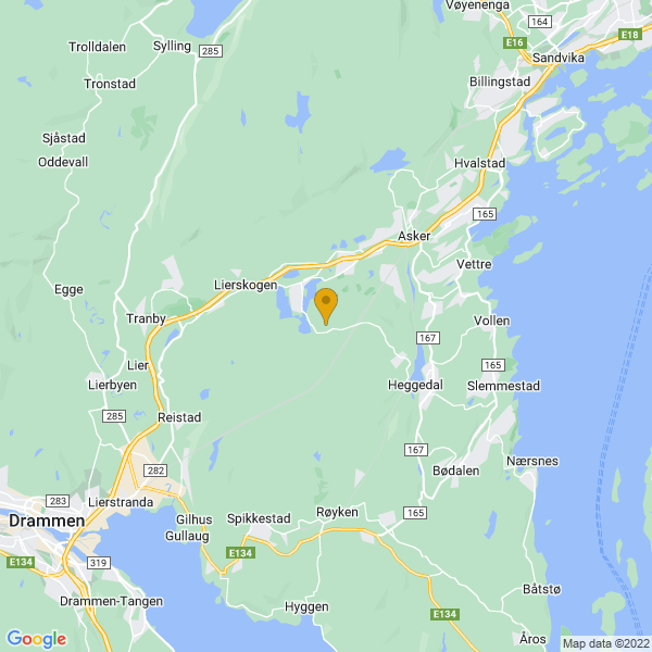 Google Map of 59.80572050000001,10.3805247