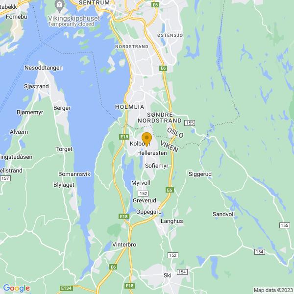 Google Map of 59.8102427,10.806807100000015