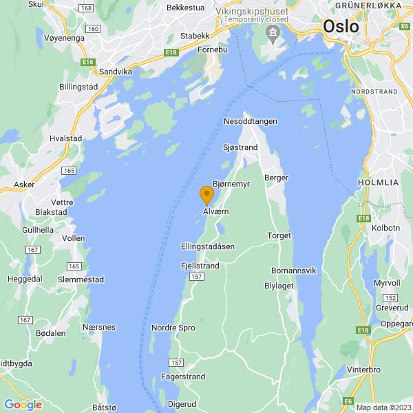 Google Map of 59.8234247,10.618331200000057