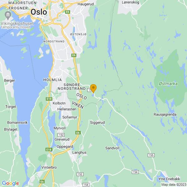 Google Map of 59.823580618248286,10.872910916805267
