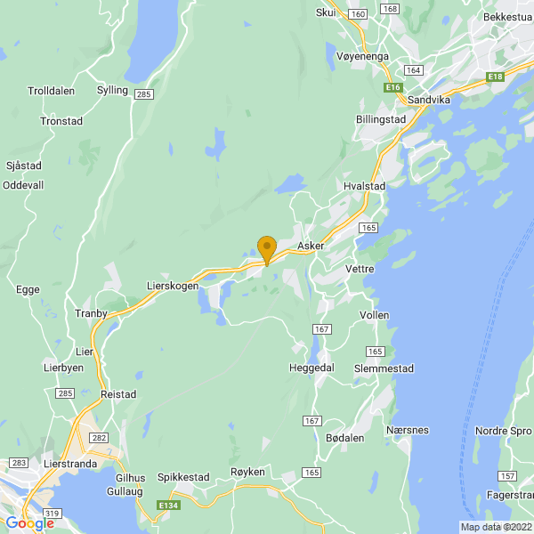 Google Map of 59.8262934,10.4024642