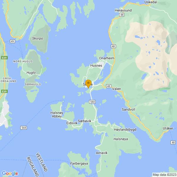 Google Map of 59.8318787,5.7180975