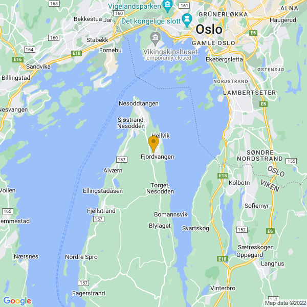 Google Map of 59.8323571,10.682375699999966