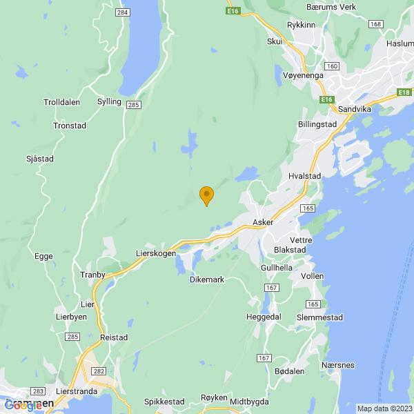 Google Map of 59.84213179999999,10.3803676