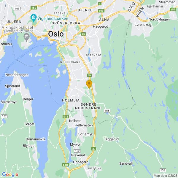 Google Map of 59.849606,10.829163