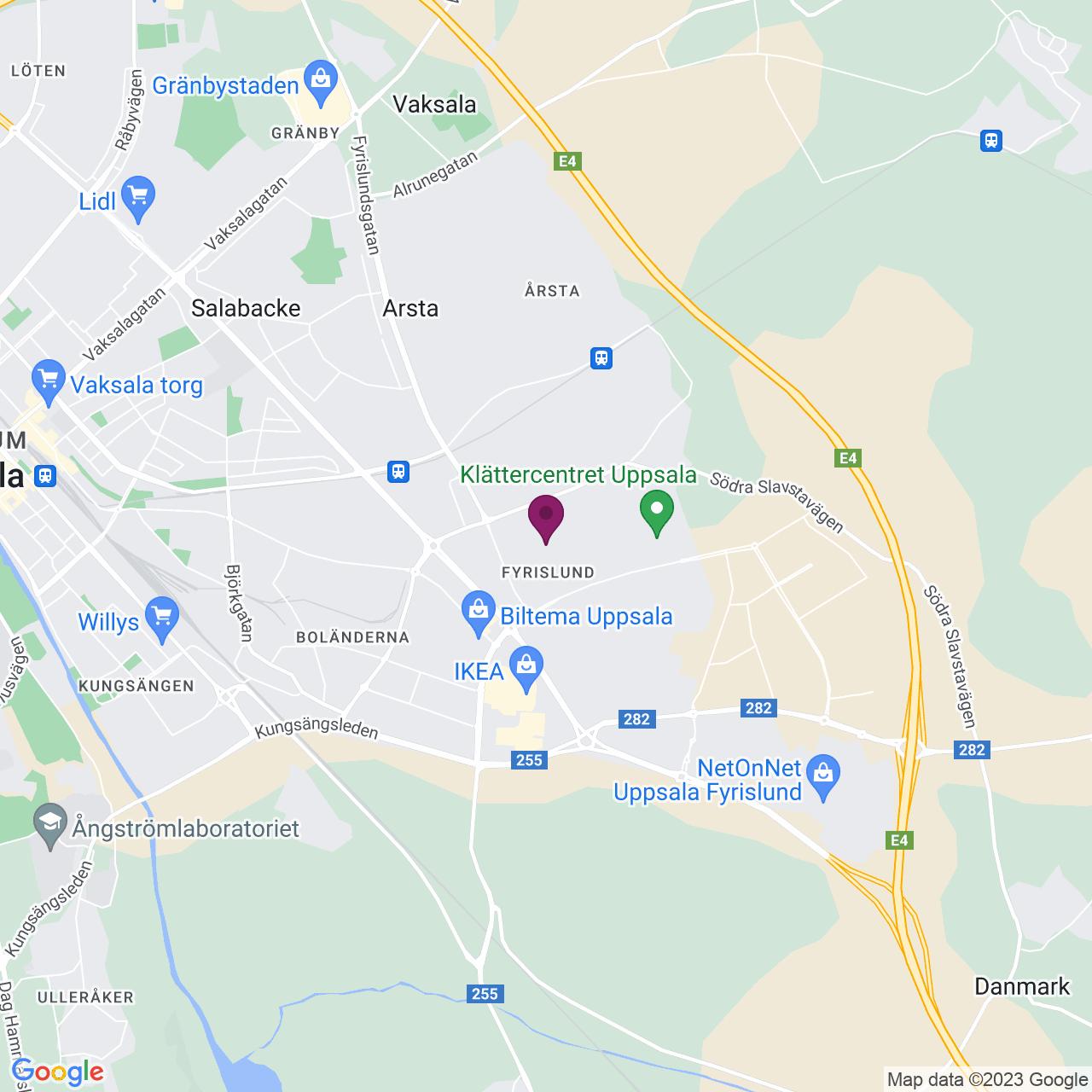 Map of Möllersvärdsgatan 12