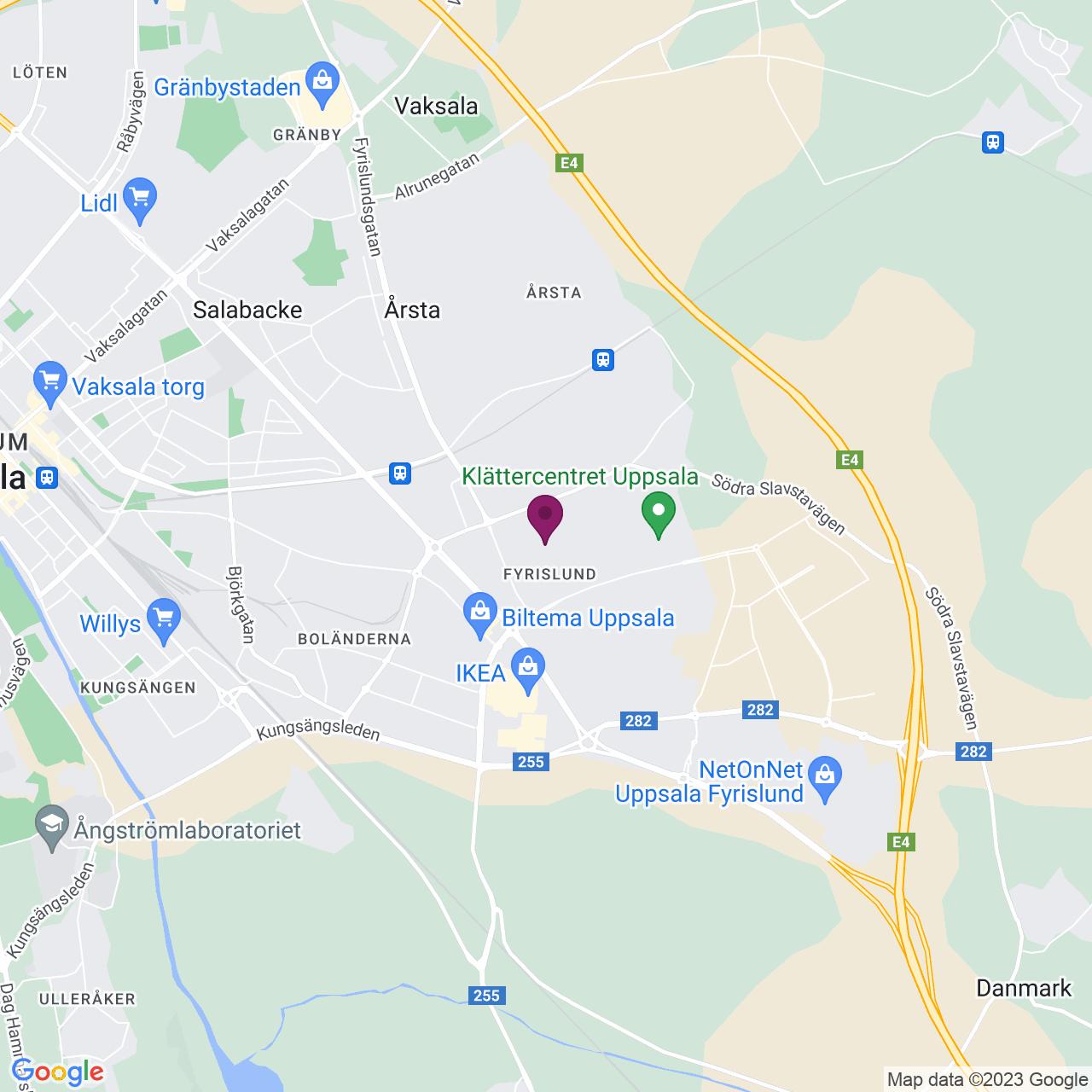 Karta över Möllersvärdsgatan 12