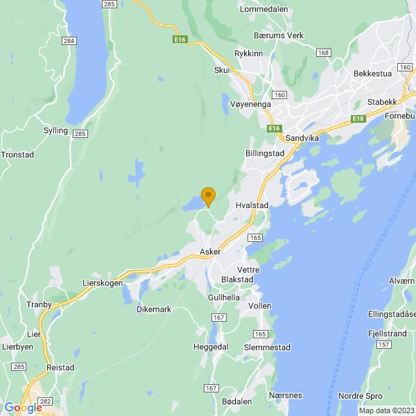 Google Map of 59.8563407,10.4343747