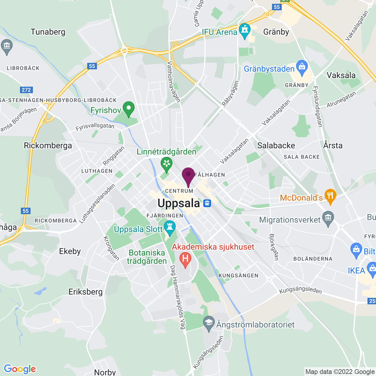 Karta över S:t Persgatan 19