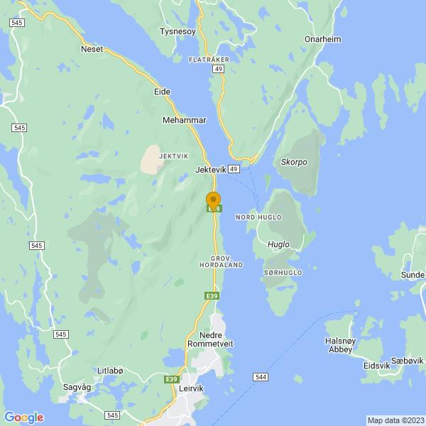 Google Map of 59.865761,5.521514